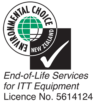 Environmental Choice New Zealand - End-of-Life Services for ITT Equipment Licence No. 5614124