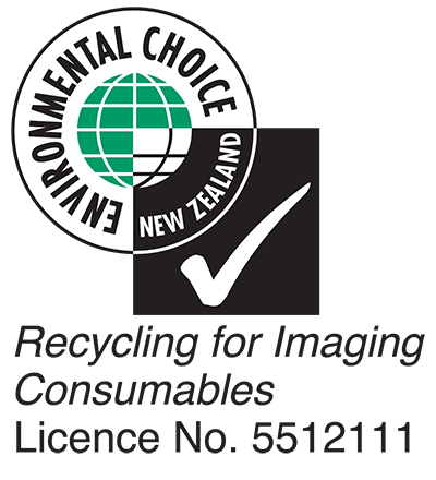 Environmental Choice New Zealand - Recycling for Imaging Consumables Licence No. 5512111